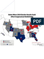 2010 Elections & Redistricting