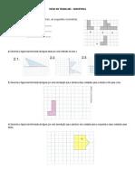 Ficha de Trabalho- Isometrias