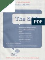 2013—1月—SAT (北美卷)