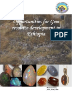 Gemstone Potential of Ethiopia