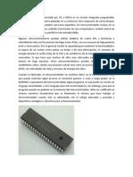 Historia General de Los Microcontroladores