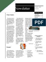 historywebsitenewsletter