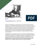 Yosef Klausner Responde a Los Anti Yeshua Talmud y Toldot Yeshu