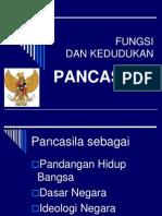 3. Fungsi Dan Kedudukan Pancasila