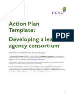 Developing a lead agency consortium A