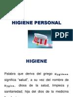 1. Higiene Personal