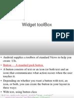 Widget Toolbox & Views