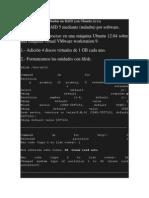 Montar Un RAID 5 en Ubuntu 12