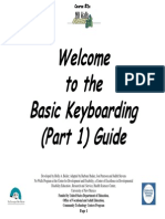 Basic Keyboarding Part 1