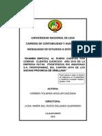 Informe Final Examen Especial Rubrocuentas Por Cobrar