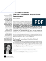 Japanese Real Estate_Does the Government Help or Hinder Development