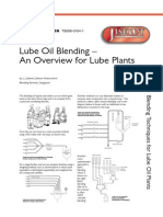Lube Oil Blending Overview