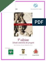 9° edizione, Schede sintetiche dei progetti