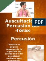 Auscultación y Percusión del Tórax