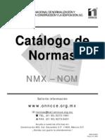 Catalogo de Normas