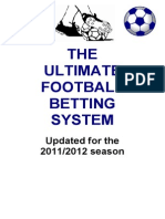 The Ultimate Football Betting Strategy
