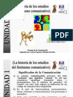 Guia de Estudio Unidad 1 Historia Comunicacion