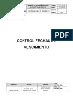 Control de Feccha de Vencimient5o