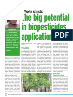 New Ag International - Vegetal Extracts - The Big Potential in Biopesticides 2013-Sep
