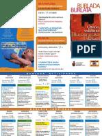 """Programación de las Jornadas """"Otoño solidario en Burlada"""" 2013"""