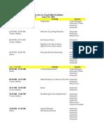 Natl Summit Staff Assignments 070809 Web