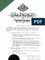 July 9 Proclamation