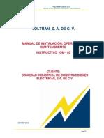 Manual Transformador Voltran