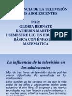 LA INFLUENCIA DE LA TELEVISIÓN EN LOS ADOLESCENTES.ppt