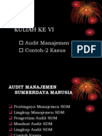 Audit Mnj Sdm Vi
