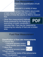 Measurement of Flow 14