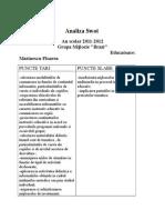 Analiza Swot 2011-2012