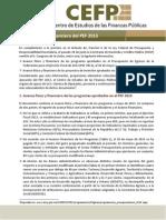 Avance F�sico y Financiero del PEF 2013.pdf