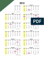 Calendario 1901_2099