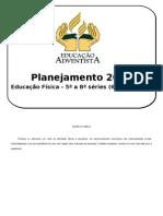 Planejamento Anual Ed. Física EF