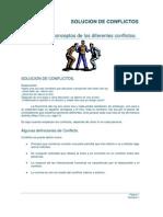Definiciones y Conceptos de Los Diferentes Conflictos