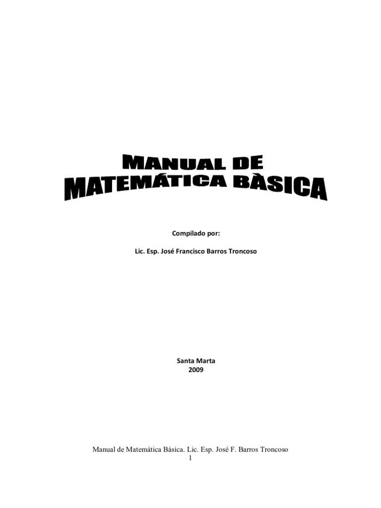 manual de matemática básica08-07-09