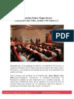 29-09-13 PRESENTAN PRIMER MAGNO SORTEO FUNDACION CANO VELEZ AYUDO Y ME GUSTA