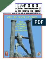 Boletín El Foso Nº 64 Casa de Ceuta en Cádiz.