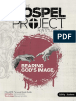 Gospel Project Unit 2 Session 6 Persona lStudy Guide - Fall