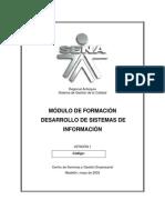 Modulo Desarrollo Sistemas de Inf.  ADSE