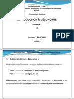 Introduction à l'économie S1