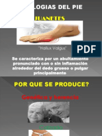 Patologias Del Pie