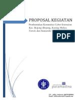 Proposal Kegiatan Cyber Extension