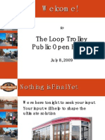 Loop Trolley Public Presentation