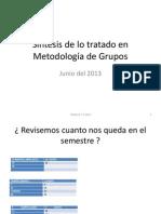 Tipologia y Estructra de Grupos