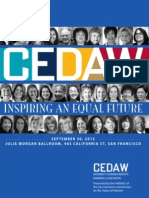 2013 CEDAW Women's Human Rights Awards Program