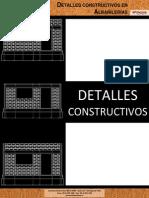 2679 PRINCESA - Detalles Constructivos en Albanilerias