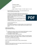 Linguistica Examen Tema 3 y 4