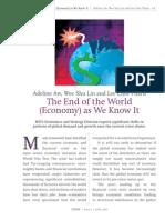 ETHOS_end of the World Economy
