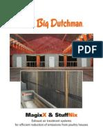 Big Dutchman Abluftreinigung Exhaust Air Treatment MagixX Und StuffNix En